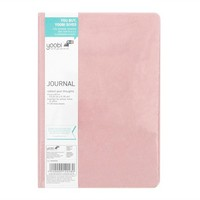 "Velvet Journal 6"" x 8.5"" Pink - Yoobi™"