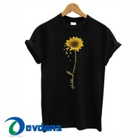 Sunflower Childhood Cancer T Shirt Women And Men Size S To 3XL