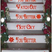 Christmas Stairs Decals on Luulla