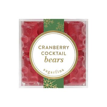 Cranberry Cocktail Bears