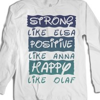 White T-Shirt | Fun Disney Inspirational Shirts