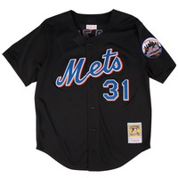 Mitchell & Ness Mike Piazza 2000 Authentic Mesh BP Jersey New York Mets