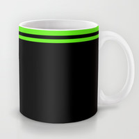 Born In Drum'n'Bass Headphones Mug by Twin Ring Design