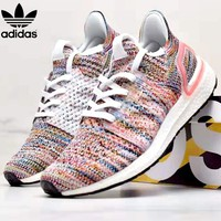 Adidas ULTRA BOOST Tide brand mesh breathable cushioning running shoes