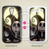The Nightmare Before Christmas, Phone cases, Samsung Galaxy S3 Case, Samsung Galaxy S4 Case, Case for Samsung Galaxy, Cover Skin -S0804