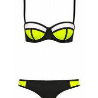 Neon Two Piece