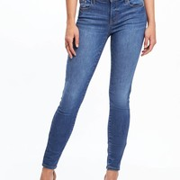 Mid-Rise Built-In Sculpt Rockstar Jeans for Women | Old Navy