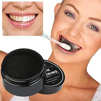 Teeth Whitening Powder Natural Organic Activated Charcoal Bamboo Toothpaste