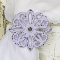 Daisy Curtain Tie Backs - Choose Your Color - Colorful Cast and Crew