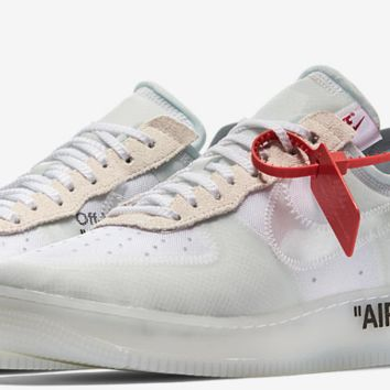 Nike Air Force 1 Low x OFF WHITE THE TEN Size US 8 CONFIRMED