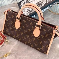 LV New fashion monogram print leather shoulder bag crossbody bag crossbody bag