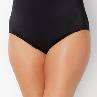 Black High Waist Brief | Swimsuits For All