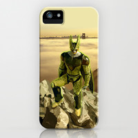 Dragon Ball Z Cell perfect Form apple iPhone 4 4s, 5 5s 5c, 6, iPod & samsung galaxy s4 case