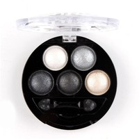 2017 Professional Eyes Shadow Makeup Pigment Cosmetic Shining Eyeshadow Palette with Brush Beauty Tool