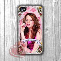 Mean Girls Lindsay I hate Everything -3ind for iPhone 4/4S/5/5S/5C/6/ 6+,samsung S3/S4/S5,samsung note 3/4