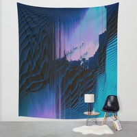 Lavender Oil Wall Tapestry by Ducky B