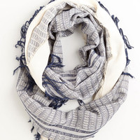 Nautical Calling for Charm Circle Scarf in Navy by ModCloth