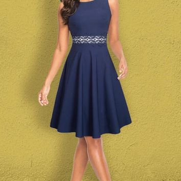 Linwood Solid Dress