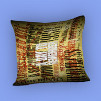 A Day To Remember Song for Pillow Case, Pillow Cover, Custom Pillow Case **