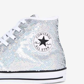 Converse Chuck Taylor Holiday Party Sequin High-Top Sneaker
