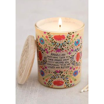 Angels Are Watching Soy Candle