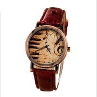 Good Price Designer's Stylish Trendy Great Deal Awesome Gift New Arrival Vintage Dial Unisex Watch [4933058180]