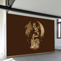 Mysterious Game of the Throne Wall Mural