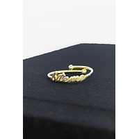 BITE ME ADJUSTABLE RING * PRE-ORDER *