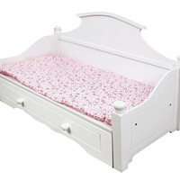 """Teamson Kids - My Sweet Girl 18"""" Doll Trundle Bed-KYW-11512A"""