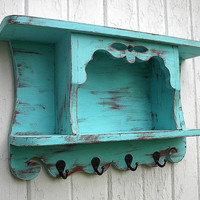 Organizer wall shelf primitive country cottage by Twigs2Whirligigs