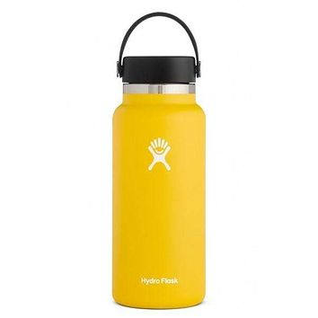 32 oz Wide Mouth Hydro Flask - Sunflower