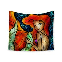 "Mandie Manzano ""Ariel"" Mermaid Wall Tapestry"