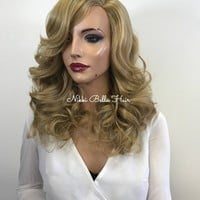 Blonde Curly Full Wig - Kayla 1184 ON SALE
