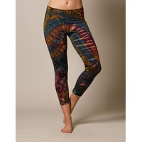 Tie-Dye Crop Leggings