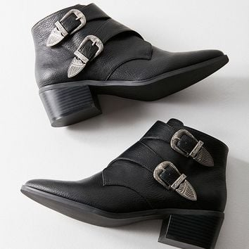 Talia Buckle Ankle Boot   Urban Outfitters