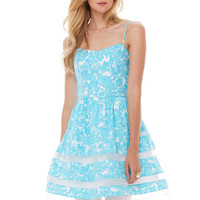 Ollie Fit And Flare Dress - Lilly Pulitzer