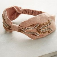 Deco Darling Turban Band by Anthropologie in Pink Size: One Size Hair