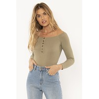 Trevi Knit Bodysuit