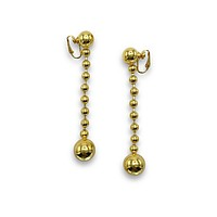 Orbita Constellation Gold Clip Earrings