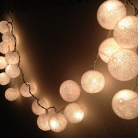 Romantic String Lights Cotton Ball