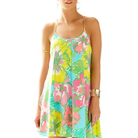 MAISY DRESS - SHORELY BLUE BIG FLIRT from Lilly Pulitzer and Ocean Palm.