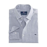Kettle Cove Classic Tucker Shirt in Barracuda by Vineyard Vines