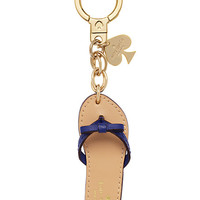Kate Spade Kate Spade Key Fobs Flip Flop Keychain Navy Multi ONE