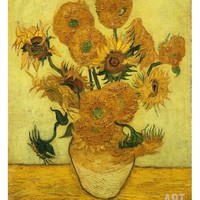 Sunflowers Giclee Print by Vincent van Gogh at Art.com