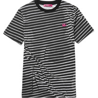 McQ Alexander McQueen - Striped Cotton-Jersey T-Shirt