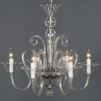 Calais Chandelier - Clear | Hanging Lamps | Lighting | Z Gallerie