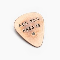 Free People All You Need Guitar Pick