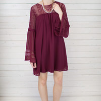 Brandi Berry Dress