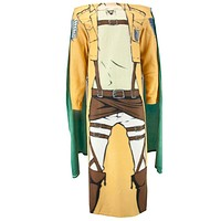 Attack On Titan - Military Uniform With Cape Cozy Blanket