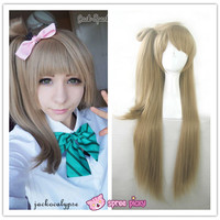 [Cosplay] [LoveLive!] Minami Kotori Long Linen Wig With Tail SP141607